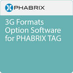 PHABRIX 3G Formats Option Software for PHABRIX TAG