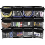 "Harrison Pelican 1600 Lid Pockets Panel (5.25 x 5"", Black)"