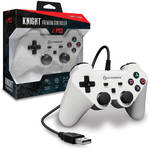 HYPERKIN Knight Premium Controller for PS3/PC/Mac (White)