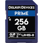 Delkin Devices 256GB Prime UHS-II SDXC Memory Card