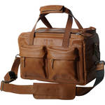 "compagnon ""The Little Weekender"" Leather Bag (Light Brown)"
