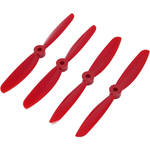 BLADE DAL 5x4.5 Two-Blade Pre-Balanced Propellers (Set of 4, Purple)