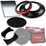 "FotodioX WonderPana 145 Core Unit Kit for Olympus 7-14mm Lens with 6.6 x 8.5"" Hard-Edge Graduated Neutral Density 0.6 and 145mm Circular Polarizer Filters"