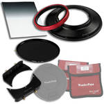 "FotodioX WonderPana 145 Core Unit Kit for Canon 14mm Lens with 6.6 x 8.5"" Soft-Edge Graduated Neutral Density 0.6 and 145mm Circular Polarizer Filters"