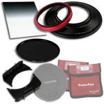"FotodioX WonderPana 145 Core Unit Kit for Sigma 14mm Lens with 6.6 x 8.5"" Hard-Edge Graduated Neutral Density 0.9 and 145mm Circular Polarizer Filters"