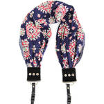 Capturing Couture Americana Scarf Camera Strap (Bluebell)
