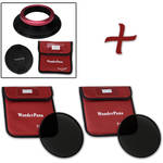 FotodioX WonderPana FreeArc XL Core Unit Kit for Sigma 12-24mm Art Lens with 186mm Slim, Solid Neutral Density 1.2 and 1.5 Filters
