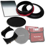 "FotodioX WonderPana 145 Core Unit Kit for Nikon 14-24mm Lens with 6.6 x 8.5"" Hard-Edge Graduated Neutral Density 0.6 and 145mm Circular Polarizer Filters"