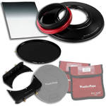 "FotodioX WonderPana 145 Core Unit Kit for Panasonic 7-14mm Lens with 6.6 x 8.5"" Soft-Edge Graduated Neutral Density 0.6 and 145mm Circular Polarizer Filters"