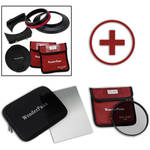 "FotodioX WonderPana FreeArc Core Unit Kit for Sigma 20mm Art Lens with 6.6 x 8.5"" Soft-Edge Graduated Neutral Density 0.6 and 145mm Circular Polarizer Filters"