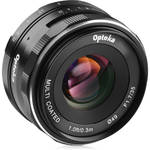 Opteka 35mm f/1.7 Lens for Micro Four Thirds