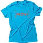 FREEFLY Movi Red Aqua T Shirt (Large)