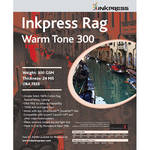"Inkpress Media Rag Warm Tone 300 Paper (17 x 22"", 20 Sheets)"