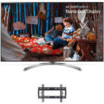 "LG SJ8500-Series 55""-Class HDR SUPER UHD Smart IPS LED TV and Tilting Wall Mount Kit"