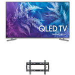 "Samsung Q6F-Series 55""-Class HDR UHD Smart QLED TV and Tilting Wall Mount Kit"