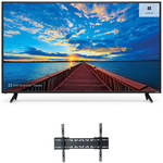 "VIZIO E-Series 50""-Class UHD SmartCast LED Home Theater Display and Tilting Wall Mount Kit"