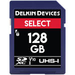 Delkin Devices 128GB Select UHS-I SDXC Memory Card