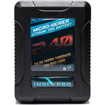 IndiPRO Tools Micro-Series V-Mount Li-Ion Battery (240Wh)