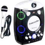 VocoPro ProjectorOke CD+G and Bluetooth-Enabled Karaoke System with LED Projector