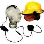 Otto Engineering Tactical Skull Microphone, with Earcup, Aviation Quality, and 80mm PTT/70
