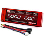 Venom Group Venom 60C 2S 5000mAh 7.4V Hard Case Lipo Battery Roar Approved With Uni Plug