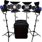 Dracast Dracast Led1900 Fresnel 5-Light Kit