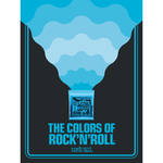 Ernie Ball The Colors of Rock'N'Roll Extra Slinky Poster