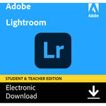 Adobe Photoshop Lightroom CC (12 Month Subscription, Student and Teacher Edition, Download)