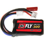 Venom Group Fly 30C 2S 300mAh LiPo Battery with JST & E-Flite JST-PH Connectors (7.4V, 60C/18A Maximum Burst Rate)