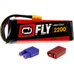 Venom Group Fly 50C 3S 2200mAh LiPo Battery with UNI 2.0 Connector (11.1V)