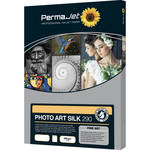 PermaJetUSA Photo Art Silk 290 Smooth Fine Art Paper (A3, 25 Sheets)