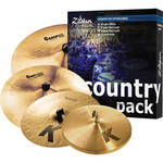 Zildjian Country Music Pack 4-Cymbal Set
