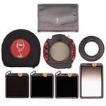 Wine Country Camera 100x100mm Master 5-Filter Kit/ Pola/ND 3, 6 & 10 Stops/ Grad ND 2-Stop SE/ Holder/ 49mm Adapter