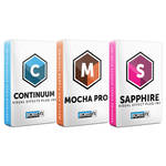 Boris FX Sapphire 11 + Continuum 11 + Mocha Pro 5 Bundle for Avid (Upgrade from Previous Version, Download)