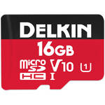 Delkin Devices 16GB Select UHS-I microSDHC Memory Card