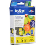 Brother LC61Y Innobella Standard-Yield Yellow Ink Cartridge