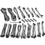 BitFenix CSR-Series Alchemy 2.0 Modular Multi-Sleeved Cable Kit (Black/White)