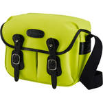 Billingham Hadley Shoulder Bag Small (Neon Yellow with Black Leather Trim and Black Lining)