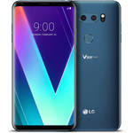 LG V30S ThinQ 128GB Smartphone (Unlocked, Glossy Moroccan Blue)