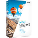 MAGIX Entertainment Vegas Movie Studio 15 Platinum - Academic Site License 05-99