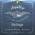 Aquila 146C High Tension Guitar String Set - EADGBE Tune,Alchemia Silver Copper Basses, Sugar Trebles