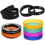 FotodioX ArtFX ColorFlare Sony E-Mount to Contax/Yashica Lens Adapter