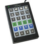 X-keys 24 Dedicated Keys With White Backlighting In A Compact Footprint. A Versatile Control Solution For A