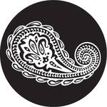 Rosco Paisley 6 B/W Breakup Glass Gobo (A Size)