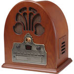 Crosley Radio Cathedral Radio and CD Player (Oak)