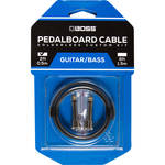 BOSS BCK-2 Solderless Pedalboard Cable Kit (2 Connectors, 2' Cable)