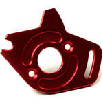 Venom Group Traxxas 1:10 Slash 4X4 + Other Trx Models Alloy Motor Plate (Red)