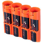 STORACELL Battery Caddy for 18650 Batteries (Orange)
