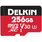 Delkin Devices 256GB Select UHS-I microSDXC Memory Card