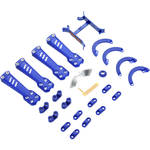 BLADE Plastic Kit for Vortex 230 Quadcopter (Blue)